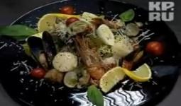 Салат из морепродкуктов от Сержа Марковича